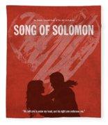Song Of Solomon Books Of The Bible Series Old Testament Minimal Poster Art Number 22 Fleece Blanket