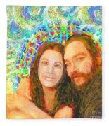 Sonia Marie And Her Sweetheart Fleece Blanket