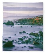 Sonoma Coast Shoreline Fleece Blanket