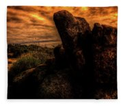 Sonoran Desert Early Morning Fleece Blanket