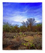 Sonoran Desert H1819 Fleece Blanket