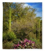 Sonoran Holiday Fleece Blanket