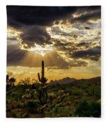 Sonoran Splendor  Fleece Blanket