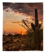 Sonoran Summer  Fleece Blanket