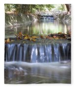 Soothing Waters Fleece Blanket