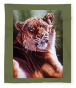 Sophie The Liger Fleece Blanket