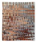 Sophisticated - Abstract Art Fleece Blanket