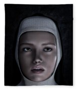 Sor Teresa Fleece Blanket