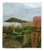 Sorrento Albergo Fleece Blanket