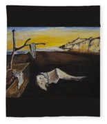sorry Dali-itsGIFT Fleece Blanket