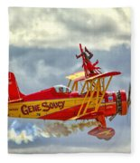 Soucy In Flight Fleece Blanket