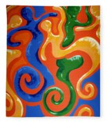 Soul Figures 7 Fleece Blanket