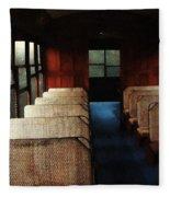 Soul Train Fleece Blanket