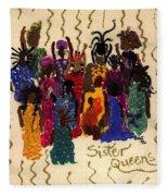 Soulful Sistahs Fleece Blanket