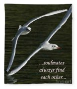 Soulmates  Fleece Blanket
