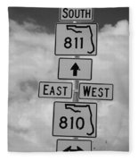South 811 Fleece Blanket