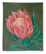 South Africa Protea Fleece Blanket