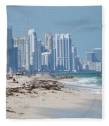 South Beach Baby Fleece Blanket