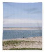South Beach, Chatham Ma Fleece Blanket