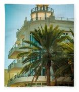 South Beach Vibes Fleece Blanket