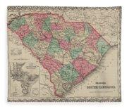 South Carolina Fleece Blanket