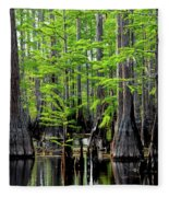 South Carolina Low Country Fleece Blanket