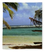 South Caye Belize Fleece Blanket