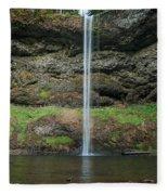 South Falls 2 Fleece Blanket