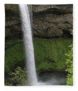 South Falls Fleece Blanket