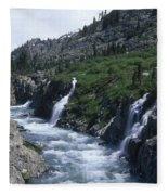 South Fork San Joaquin River Fleece Blanket