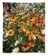 South Lake Tahoe Flowers Fleece Blanket