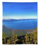 South Lake Tahoe Fleece Blanket