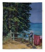 South Lake Tahoe Summer Fleece Blanket