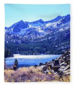 South Lake Fleece Blanket