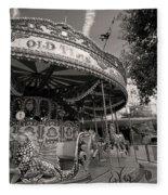 South London Carousel Fleece Blanket