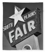 South Plains Fair Fleece Blanket