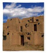 South Pueblo Taos Fleece Blanket
