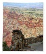 South Rim Grand Canyon  Fleece Blanket