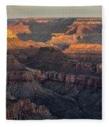 South Rim Sunrise - Grand Canyon National Park - Arizona Fleece Blanket