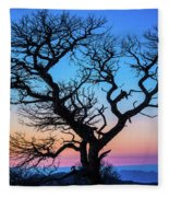 South Rim Tree Fleece Blanket