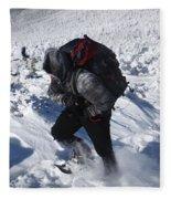 South Twin Mountain - White Mountains New Hampshire  Fleece Blanket