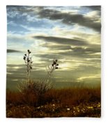 Southeastern New Mexico Fleece Blanket