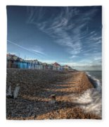 Southend On Sea Fleece Blanket