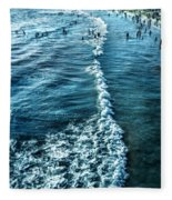 Southern California Beach Fleece Blanket