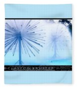 Southern California Fountains Fleece Blanket