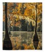 Southern Gold Fleece Blanket