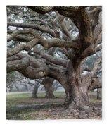 Southern Live Oak Fleece Blanket