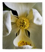 Southern Magnolia Fleece Blanket