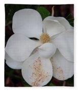 Southern Magnolia Matchsticks Fleece Blanket