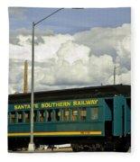 Southern Railway Fleece Blanket